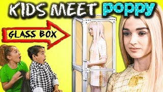 Download Kids React Cast MEETS Poppy For The First Time Video