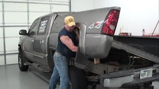 Download Pt.1 2007 Chevy Pickup Fuel Pump Replacement At D-Ray's Shop Video