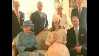 Download Funny Moment Kate Middleton and Her Baby Take a Photo With The Queen Video