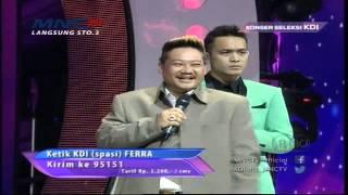 Download Ferra Menyanyi Bisa Memanggil Arwah Bersama Ki Kusumo - Konser Seleksi KDI 2015 (25/3) Video