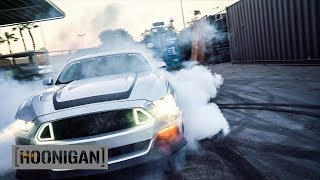 Download [HOONIGAN] DT 028: Vaughn (and Abby) Gittin Jr. Slay Tires in the Mustang RTR Spec 2 Video