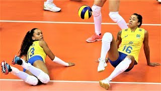 Download Best Women's Volleyball Actions | Volleyball Digs | Volleyball Saves | Rally | WGP 2017 Video