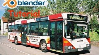Download Blender Tutorial - Bus modellieren für Omsi ► Vorarbeit und erste Schritte in Blender Video