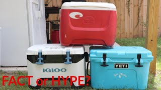 Download Truth about Coolers- YETI 20 VS Igloo BMX 25 VS Old RED Video