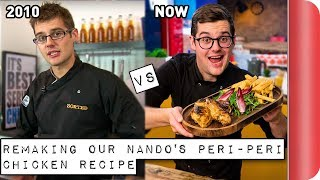 Download Remaking and Reviewing our old Nando's Peri-Peri Chicken Recipe | 2010 vs 2018 Video