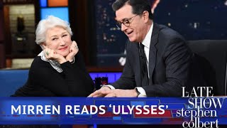 Download Helen Mirren Reads Poetry To An Emotional Stephen Colbert Video