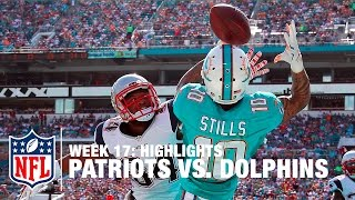 Download Patriots vs. Dolphins | Week 17 Highlights | NFL Video