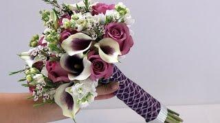Download DIY Calla and Rose Bridal Bouquet Video