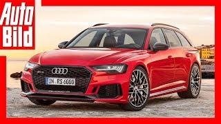 Download Zukunftsaussicht: Audi RS 6 Avant (2019) Video