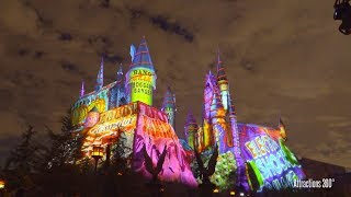 Download [4K] Christmas at Hogwarts Castle - A New Projection Show at Universal Studios Video