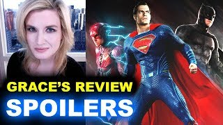 Download Justice League SPOILERS Movie Review Video
