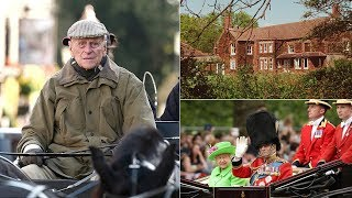 Download The NEW life of Prince Philip is very different from his royal life - in a cottage at Sandringham Video