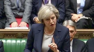 Download British PM Theresa May Answers Questions in Parliament. Nov 23, 2016 Video