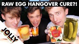 Download WORLD'S WEIRDEST HANGOVER CURES!?! Video