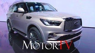 Download SUV : 2018 INFINITI QX80 l DUBAI WORLD PREMIERE l Design (ENG) Video