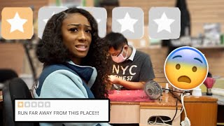 Download GOING TO THE WORST REVIEWED NAIL SALON IN MY CITY (WTF..) Video
