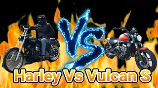 Download What's faster: Harley vs Vulcan S?? Video