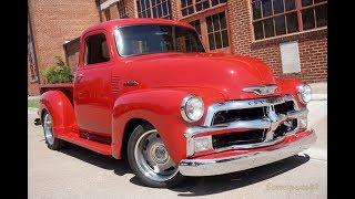 Download Big Money Custom Street Rod 1954 Chevrolet 5-Window 3100 Series Pickup Truck Video
