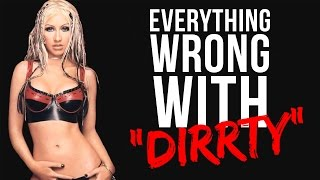 Download Everything Wrong With Christina Aguilera - ″Dirrty″ Video