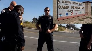Download First Amendment Test Detained By Camp Pendelton Police Video