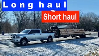 Download long haul vs short haul rate per mile - Hotshot Trucking Video