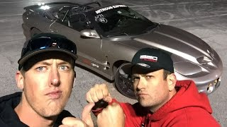 Download KYLE and CLEETUS Drive The 1000hp Sketchy Vert! Video