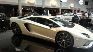 Download [4k] Lamborghini Aventador S Baloon White Ad Personam at Top Marques Monaco 2017 Video
