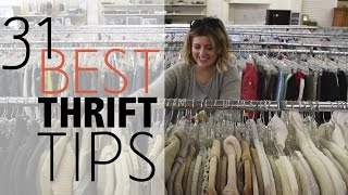 Download 31 BEST Thrift Store Tips | Shopping Guide Video