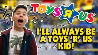Download I DON'T WANNA GROW UP - Toys ″R″ Us Jingle - Family Music Video w/Bloopers! COMEBACK??? Video