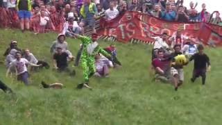 Download Cheese Rolling at Cooper's Hill, Gloucestershire - 2016 Video