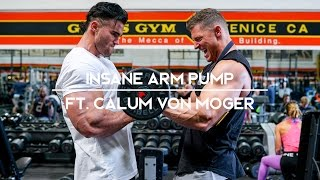 Download INSANE ARM PUMP ft. Calum Von Moger | 6 Weeks to LEAN Ep. 1 Video