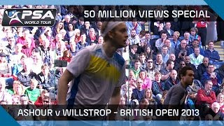 Download Squash: 50 Million Views Special - Ashour v Willstrop FULL MATCH Video