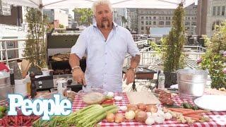 Download Guy Fieri Grills Up the Perfect Summer Steak Skewers | People Video