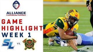 Download Salt Lake Stallions vs. Arizona Hotshots | AAF Week 1 Game Highlights Video