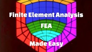 Download Finite Element Method (FEM) - Finite Element Analysis (FEA): Easy Explanation Video