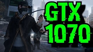 Download Watch Dogs GTX 1070 OC | 1080p - 1440p & 2160p Maxed Out | FRAME-RATE TEST Video