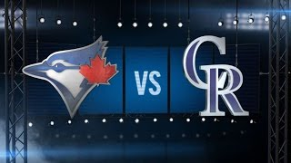 Download 6/27/16: Rockies rally for six in 7th, down Blue Jays Video
