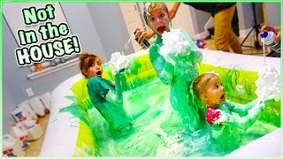 Download 😁 500 POUNDS OF FLUFFY PUFFY SLIME CHALLENGE! 😁 Video
