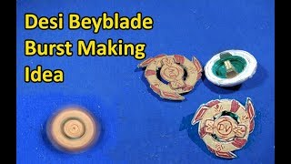 Download Desi Beyblade Burst Looking Valtryek Top | Make a Beyblade Burst From Card board At home Video