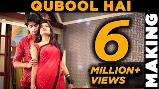 Download Qubool Hai |Aahil and Sanam Romantic Song Behind the scenes | Screen Journal Video