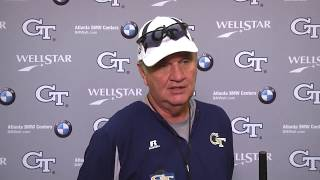 Download Game 3: Paul Johnson Post-Practice Press Conference (9-20-17) Video
