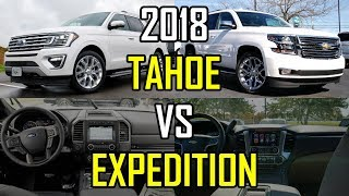 Download $80K SUV FACEOFF - 2018 Ford Expedition vs. 2018 Chevy Tahoe: Comparison Video