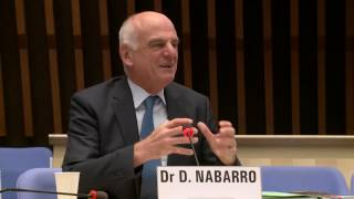 Download WHO: Dr David Nabarro at the Director-General candidates forum Video