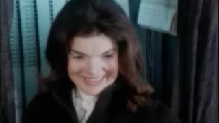 Download November 7, 1972 - Jacqueline Kennedy Onassis Voting in Presidential Election, New York, NY Video