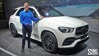 Download The New Mercedes GLE is an SUV Tech Fest! | FIRST LOOK Video
