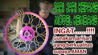 Download Velg kepang kembang buat kontes modifikasi motor / harian by Mr.JACK #8 Video