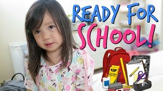 Download READY FOR SCHOOL! - September 06, 2016 - ItsJudysLife Vlogs Video