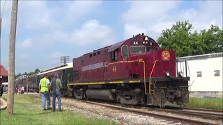 Download [HD] Alcos in the Ozarks; Chasing the Arkansas & Missouri Railroad: 7/25/14 Video