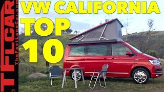 Download Top 10 Most Awesome Features of The VW Camper Van You Can't Have! Video