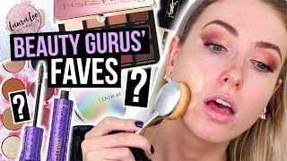 Download Full Face TESTING BEAUTY GURUS Makeup FAVORITES?! || What Worked & What DIDN'T Video